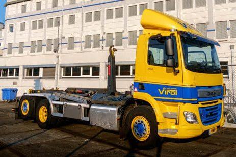 Vrachtwagen Virol